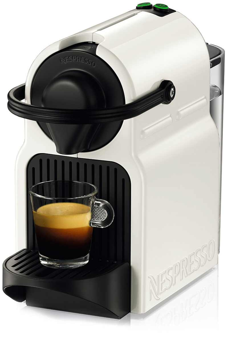 Pod Coffee Maker Reviews 2015 : Nespresso Inissia Espresso Maker Review - Big Taste, Small Size