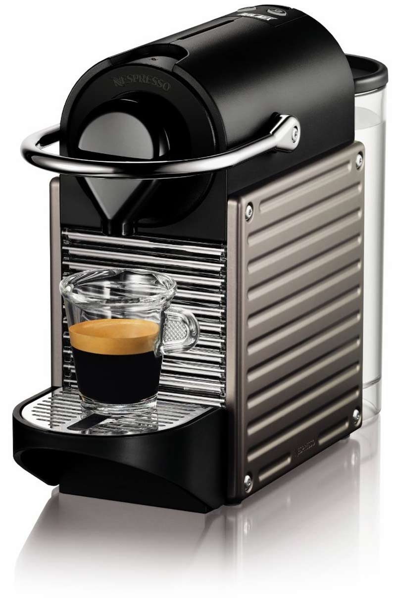 nespresso pixie espresso maker review tiny and mighty. Black Bedroom Furniture Sets. Home Design Ideas