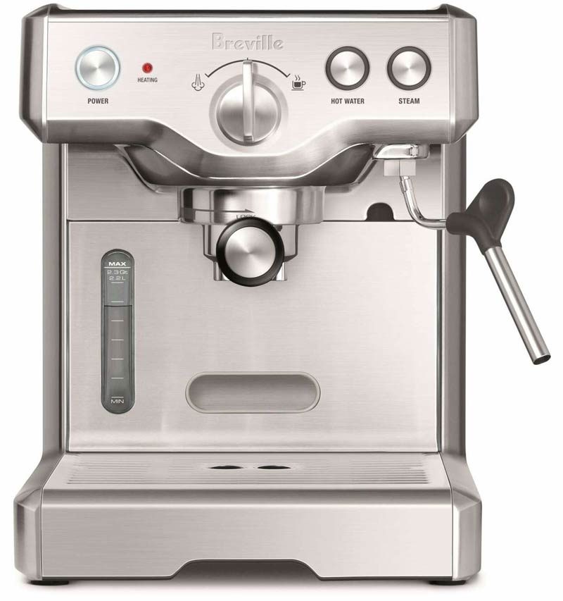 Breville Coffee Maker Wonot Heat : Breville 800ESXL Review - Shiny and Functional Espresso Machine